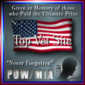Top Vet Site Military Award